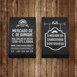 Charcutaria Lisboa Business Card