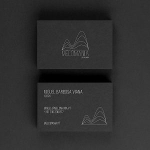Melomania by Ximpa Business Card