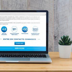 Rent2You Website - Desktop