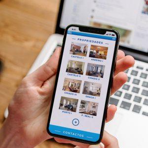 Rent2You Website - Mobile