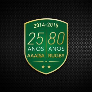 80 Years of Agronomia Rugby Logo